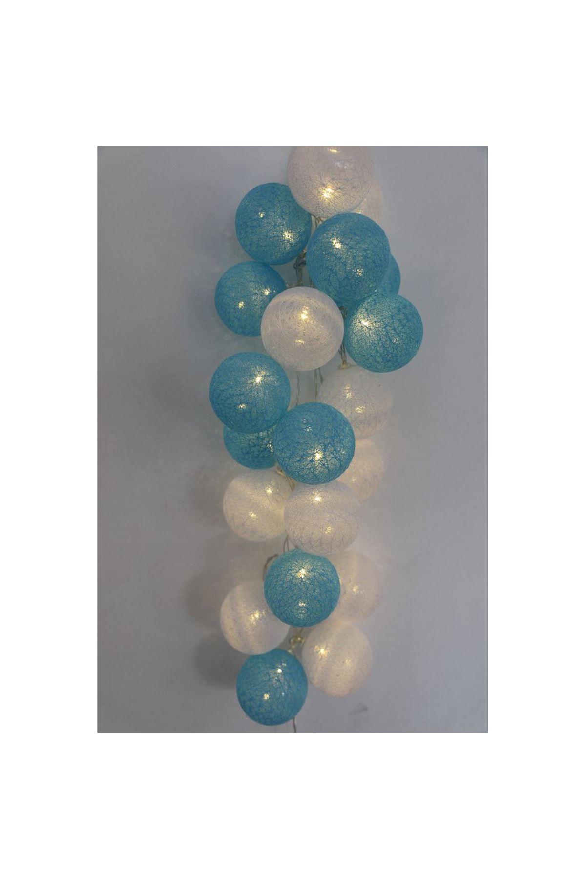 Mavi Renkli Işıklı Top