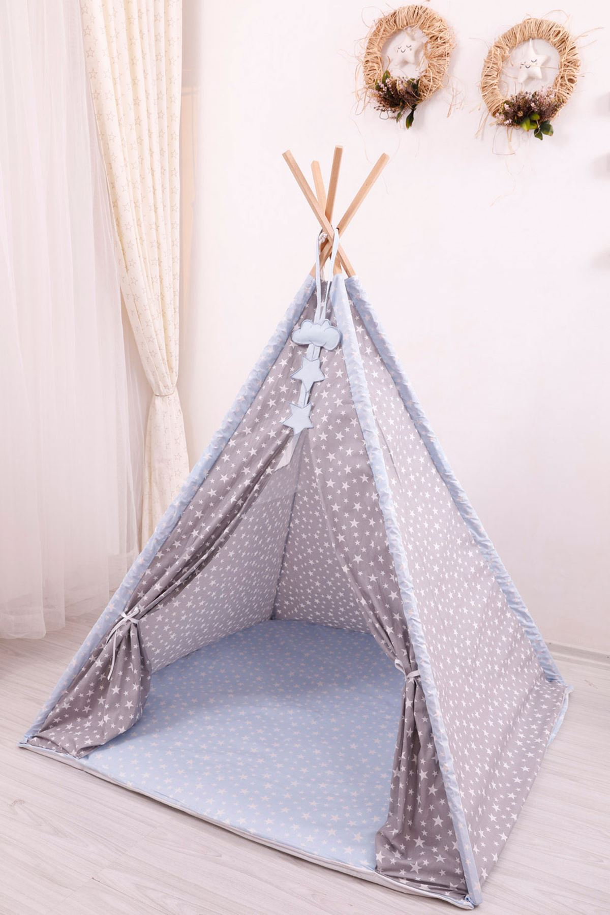 """Play Tent """"Blue Star"""""""