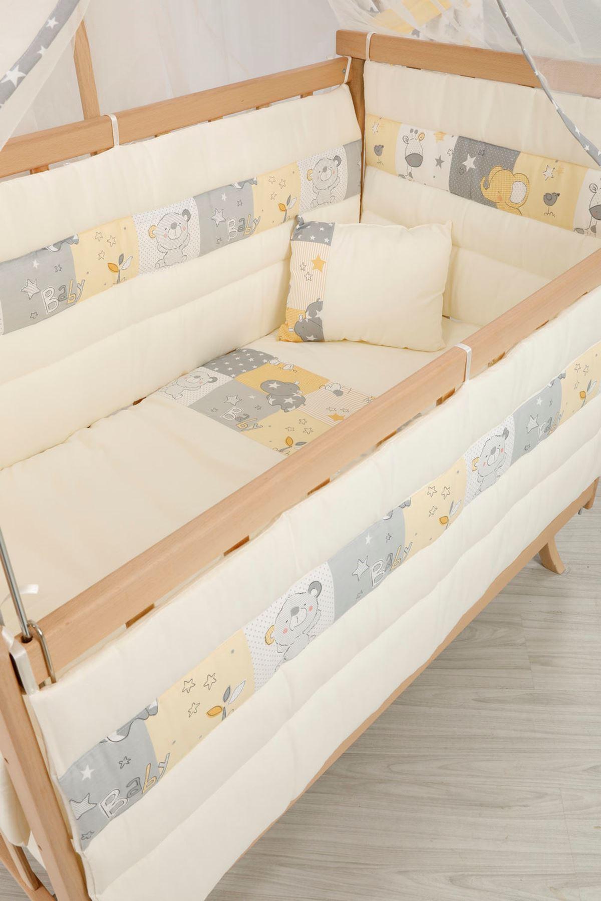 Sarı Koala Bebek Uyku Seti 60x120