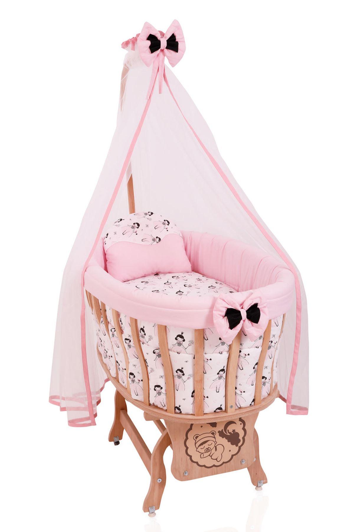 """Sepet Beşik İçin Uyku Seti """"Prenses"""""""